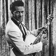 "Charles Edward Anderson ""Chuck"" Berry was an American guitarist, singer and songwriter and one of the pioneers of rock and roll music. Rock And Roll, Rock & Pop, Rock N Roll Music, The Rock, Mos Def, Brian Wilson, Angus Young, Eric Clapton, Blues Artists"