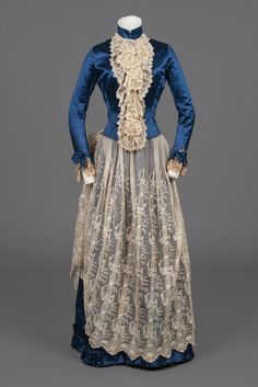 Dress 1883-1889 Goldstein Museum of Design