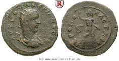 RITTER Kilikien, Hieropolis Kastabala, Valerianus I., Hexassarion, Heros #coins