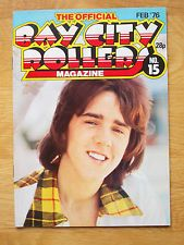 BAY CITY ROLLERS OFFICIAL MAGAZINE No.15 FEB 1976 N/MINT