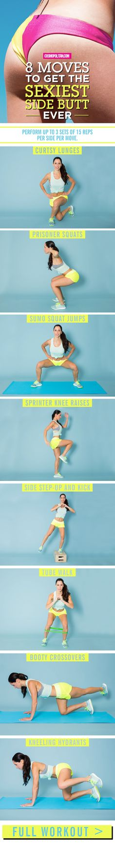 Give your butt some sexy definition with these moves.