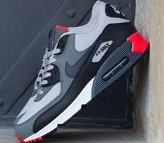 new product 928e2 750dc Nike Air Max 90 Essential – Light Iron   Anthracite – Black