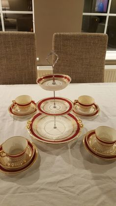 Vintage Cake Stands, Tea Sets Vintage, Gold Watch, Rose Gold, Accessories, Jewelry Accessories