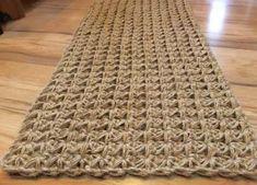 Door Mat Jute Rug Doormat Crochet Welcome Rug