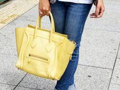 #Celine luggage tote