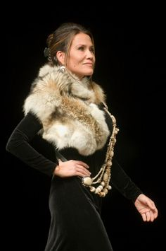 Western Design Conference jewelry and fashion show at the Center for the Arts © BRADLY J. BONER.  #couture #fur #fashion