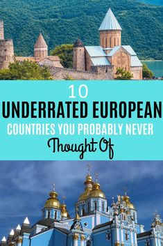 The most underrated european destinations you must visit - Home Decor -DIY - IKEA- Before After Top Travel Destinations, Europe Travel Tips, European Travel, Travel Guides, Places To Travel, Budget Travel, Top European Destinations, Travel Hacks, Videos Mexico