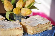 Cremsnit-Crempita Desert Bar, Something Sweet, Desert Recipes, Camembert Cheese, Food And Drink, Dairy, Cooking, Desserts, Romanian Food