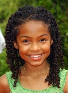 80 Best Curly Hair Styles For Kids Images Curls Natural Hair