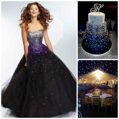 Out of This World Galaxy Themed Quince | Quinceanera Ideas | http://www.quinceanera.com/decorations-themes/great-ideas-for-a-quinceanera-theme/?utm_source=pinterest&utm_medium=social&utm_campaign=decorations-themes-great-ideas-for-a-quinceanera-theme