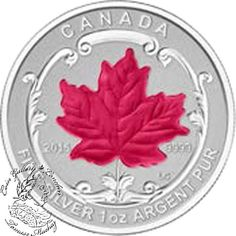 Coin Gallery London Store - Canada: 2015 The Maple Leaf Silver Fractional Set, $224.95
