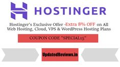 """Hostinger Coupons & Promo Codes For Oct 2020 