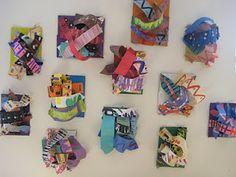 Paper sculptures, 1st grade