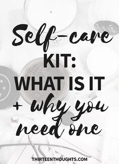 Selfcare | self-care kit | self-care ideas | lifestyle | wellness | slow living | self-care | mindfulness | happiness via @Paula13t