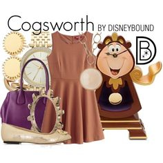 """""""Cogsworth"""" by leslieakay on Polyvore"""