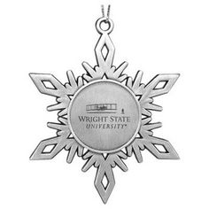 Who WOULDN'T want this Wright State snowflake ornament? :)