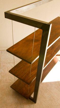 Suspended Shelves.... From Taylor Donsker Furniture Design