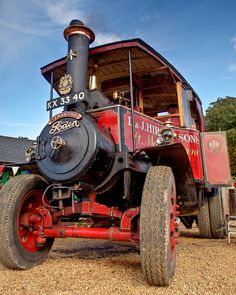 A Foden steam tractor built in 1929 by Edwin Foden Sons and Co.