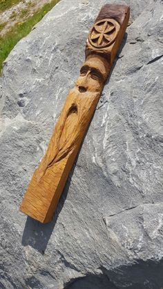 woodspirit with Svarga symbol
