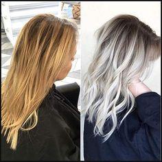 Pin von Elissa auf Hair | Pinterest | Haarfarbe, Haarfarben ideen ... | Einfache Frisuren