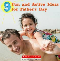 Plan a fun, active day with the family for Father's Day or any day! Click for ideas.