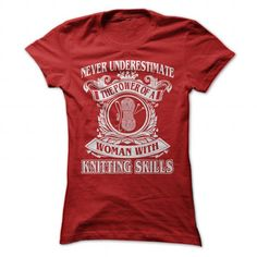 Cool Knitting T Shirts, Hoodies. Get it here ==► https://www.sunfrog.com/Hobby/Cool-Knitting-Shirt-Red-Ladies.html?57074 $22