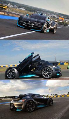 Citroen Survolt Looks Like a Futuristic Bugatti Veyron, is Purely Electric