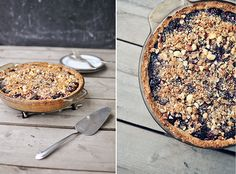 Tired of pie? Don't be!  Blackberry Apple pie may be just want you need. . .