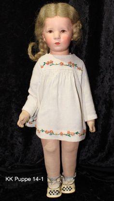 Los 14 alte Käthe Kruse Puppe, Deutsches Kind ca. 52 cm groß, | eBay