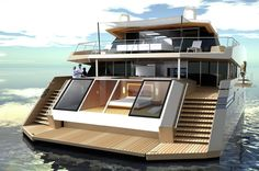 115 Sunreef Power Mega Catamaran - an architectural and design masterpiece with nearly 700m2 of living space.