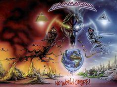 NO ILLUMINATI BUT GOD   ... most obvious anti-NWO metal covers would be Gamma Ray - No World Order