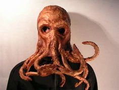 Creepy Squid Masks - Bob Basset Works Leather Into Tentacular Wearable Art (GALLERY)