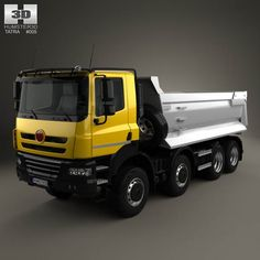 Buy a detailed 3d model of Tatra Phoenix Tipper Truck 4-axle 2011 in various file formats. All our 3D models were created maximally close to the original.