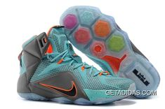 brand new 328ec 9da87 Lebron 12 Jade Blue Grey Orange TopDeals, Price   87.24 - Adidas Shoes,Adidas  Nmd,Superstar,Originals