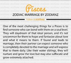 Pisces are completely devoted, faithful and committed, when in a relationship. Particularly, a marriage! ♓️ #pisces #teampisces #committed #loyal #faithful #devoted #allyours #zodiac #marriage #relationships #oneofakind #bestsign #bestlovers #bestpartners #truelove #lovewins #piscesrule # # #onpoint #bestofthebest #getyouapisces #nuffsaid #realtalk #facts #amen #instagram #followme #justsaying #preach