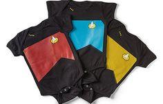 Star Trek TNG Bodysuits for Infants