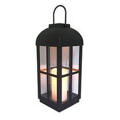 Sonoma Goods For Life® Large Solar Lantern Floor Decor Large Outdoor Lanterns, Floor Lanterns, Traditional Lighting, Sonoma Goods For Life, Floor Decor, Outdoor Entertaining, Solar Panels, Garden Design, Ceiling Lights