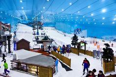 Ski Dubai Indoor Ski Slopes Mall of the Emirates
