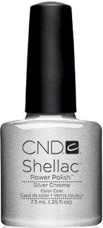Silver Chrome | CND Shellac