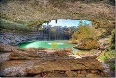 Hamilton Pool, west of Austin, Texas