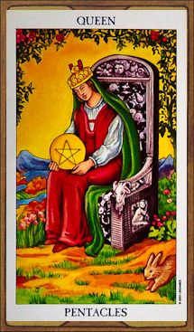 Queen of Pentacles - Tarot Card Meaning & Interpretation