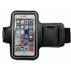 DK® Sport Running Armband Case for IPhone 6/5s/5c/5,Samsung S5/S4/S3 (Black)