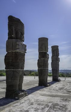 Toltec warriors (Atlantes de Tula)