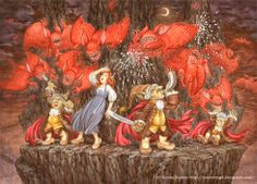 """Ksenia Kareva illustration for """"Prince Briar"""". Illustrator, Prince, Artist, Painting, Artists, Painting Art, Paintings, Painted Canvas, Illustrators"""