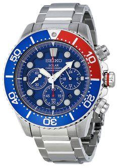 Seiko Pepsi Diver SSC031 Automatic Watch
