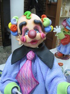 clowns.quenalbertini: Clown with tie