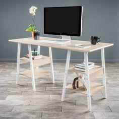 Christopher Knight Home Zeta Computer Desk | Overstock.com Shopping - The Best Deals on Desks