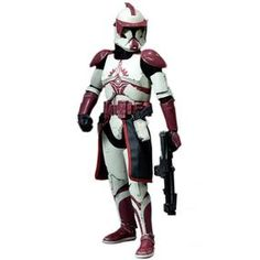 clone trooper commander ganch figure from star wars expanded universe it is made by sideshow. Black Bedroom Furniture Sets. Home Design Ideas