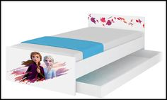Disney children's bed Frozen II-A – Kiddymill Magical Room, Childrens Desk, Mattress Frame, Bed With Drawers, How To Make Bed, Kid Beds, Disney Magic, Beautiful Images, Kids Bedroom