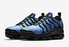 5e364ce92db76 Nike Air Vapormax Plus OG Original Fade Black Hyper Blue 924453-008 New Size